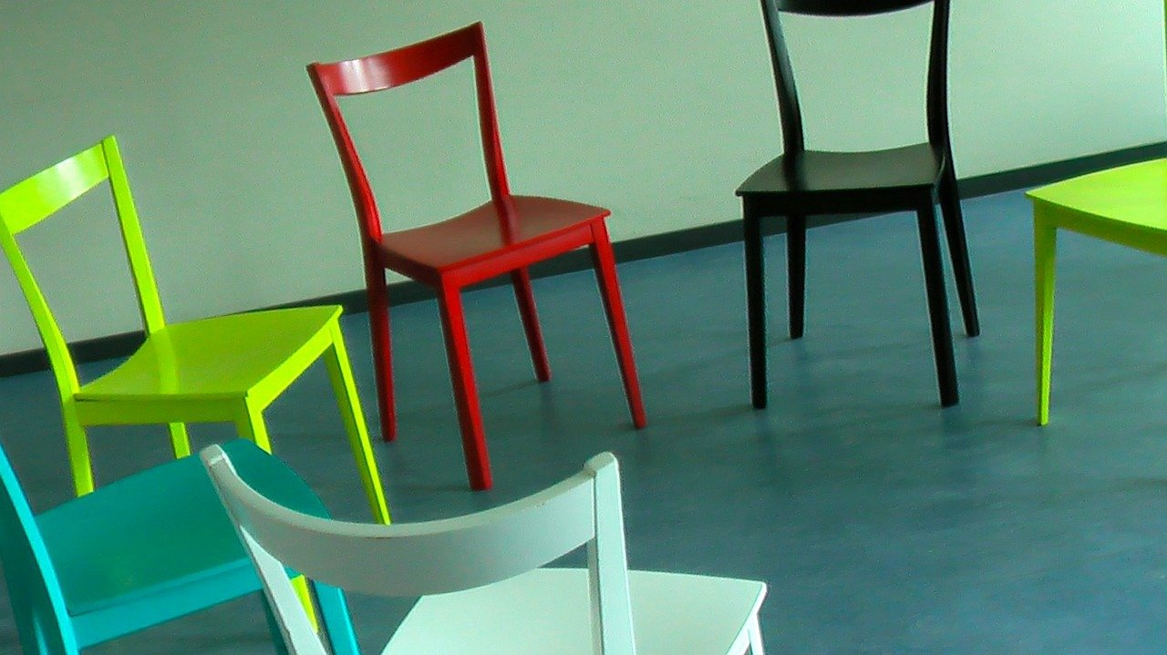Improv Class - Image of chairs in circle