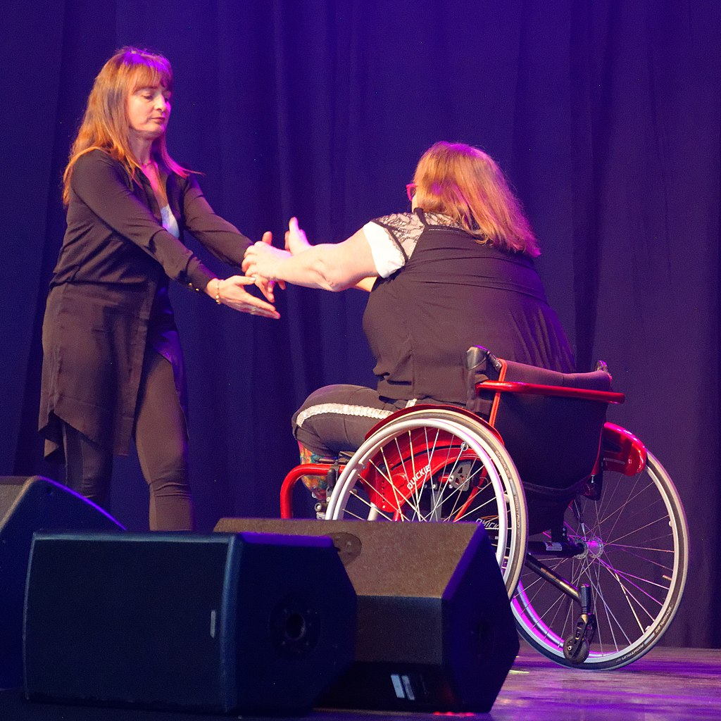 improv for disabled performers - image